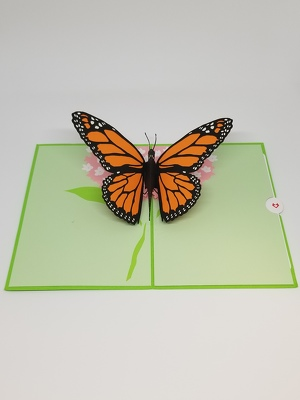Butterfly Lovepop Greeting Card