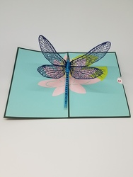 Dragonfly Lovepop Greeting Card from Weidig's Floral in Chardon, OH