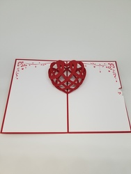 Heartbeat Lovepop Greeting Card from Weidig's Floral in Chardon, OH