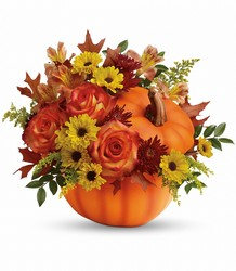 Teleflora's Warm Fall Wishes Bouquet from Weidig's Floral in Chardon, OH