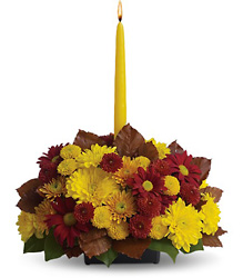 Harvest Happiness Centerpiece from Weidig's Floral in Chardon, OH