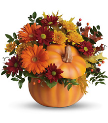 Teleflora's Country Pumpkin from Weidig's Floral in Chardon, OH
