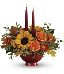 Teleflora's Earthy Autumn Centerpiece from Weidig's Floral in Chardon, OH