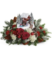 Thomas Kinkade's Snowfall Dreams Bouquet from Weidig's Floral in Chardon, OH