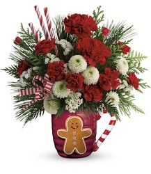 Send A Hug Winter Sips Bouquet by Teleflora from Weidig's Floral in Chardon, OH