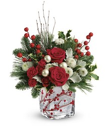 Teleflora's Winterberry Kisses Bouquet from Weidig's Floral in Chardon, OH