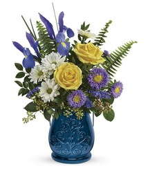 Teleflora's Sapphire Garden Bouquet from Weidig's Floral in Chardon, OH