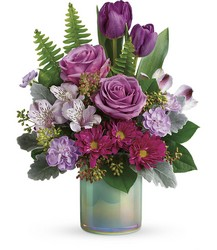 Teleflora's Art Glass Garden Bouquet from Weidig's Floral in Chardon, OH