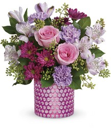 Teleflora's Bubbling Over Bouquet from Weidig's Floral in Chardon, OH