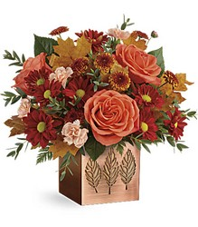 Teleflora's Copper Petals Bouquet from Weidig's Floral in Chardon, OH