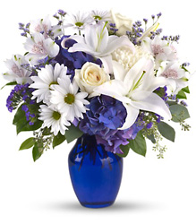 Beautiful in Blue from Weidig's Floral in Chardon, OH
