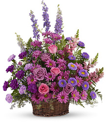 Gracious Lavender Basket from Weidig's Floral in Chardon, OH