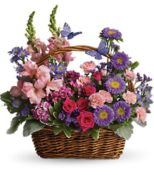Country Basket Blooms from Weidig's Floral in Chardon, OH
