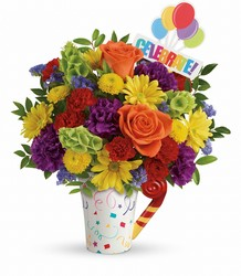 Teleflora's Celebrate You Bouquet from Weidig's Floral in Chardon, OH