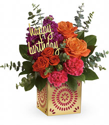 Teleflora's Birthday Sparkle Bouquet from Weidig's Floral in Chardon, OH