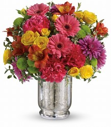 Teleflora's Pleased As Punch Bouquet from Weidig's Floral in Chardon, OH