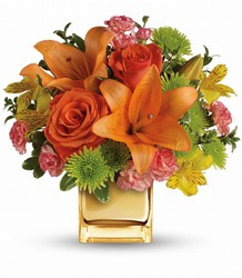 Teleflora's Tropical Punch Bouquet from Weidig's Floral in Chardon, OH