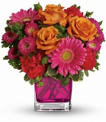 Teleflora's Turn Up The Pink Bouquet from Weidig's Floral in Chardon, OH