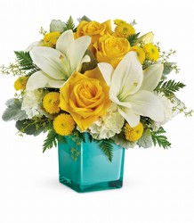 Teleflora's Golden Laughter Bouquet from Weidig's Floral in Chardon, OH