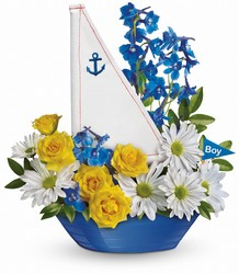 Ahoy It's A Boy Bouquet by Teleflora from Weidig's Floral in Chardon, OH