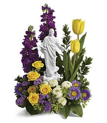 Teleflora's Sacred Grace Bouquet from Weidig's Floral in Chardon, OH