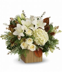 Teleflora's Snowy Woods Bouquet from Weidig's Floral in Chardon, OH