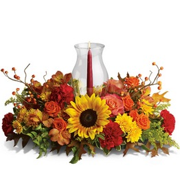 Delight-fall Centerpiece from Weidig's Floral in Chardon, OH